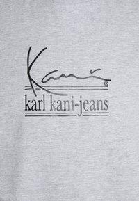 Karl Kani - SIGNATURE TEE UNISEX - Print T-shirt - grey - 5