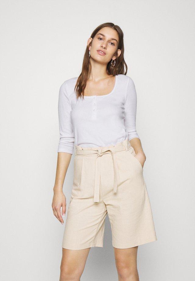 SLFANALIPA  - Bluzka z długim rękawem - bright white