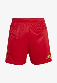 adidas Performance - BELGIUM RBFA HOME SHORTS - Short de sport - red - 3