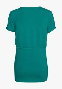 Esprit Maternity - NURSING - Print T-shirt - teal green - 1