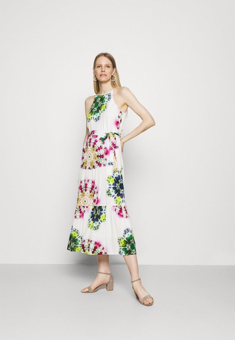 Desigual - VEST SENA - Day dress - white