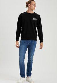 DeFacto - Stickad tröja - black - 1