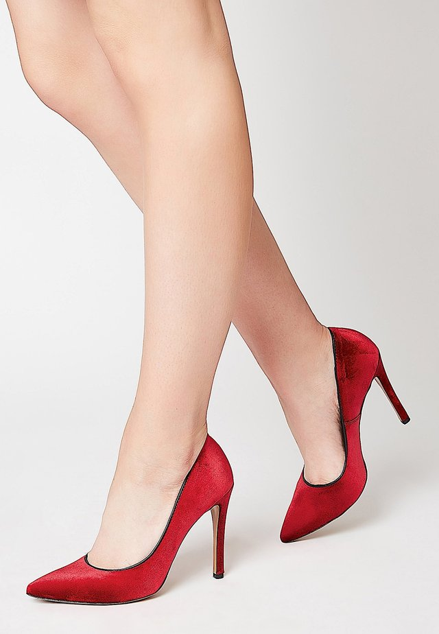 ELEGANTE - Zapatos altos - red