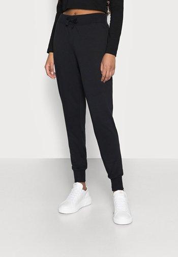 LOUNGEWEAR JOGGERS - Teplákové kalhoty - black