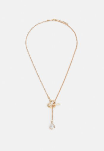 CATHERINE - Necklace - gold-coloured/weiß