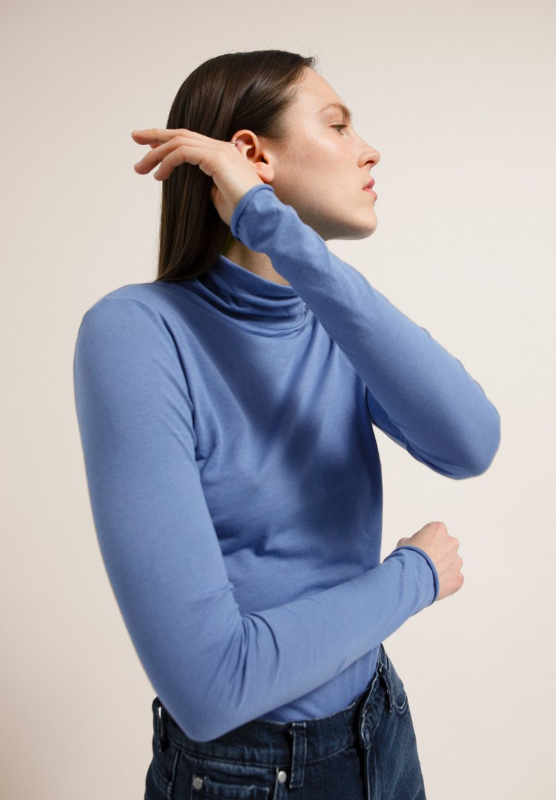 ARMEDANGELS - MALENAA - Long sleeved top - dove blue