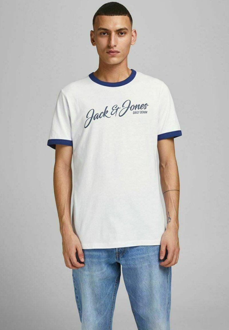 Jack & Jones - Print T-shirt - white