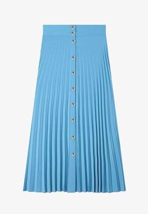 Pleated skirt - light blue
