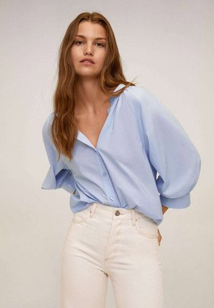 PURPU-H - Button-down blouse - himmelblau