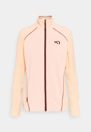 Fleece jacket - light pink