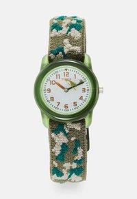 Timex - KIDZ CAMOUFLAGE UNISEX - Hodinky - green - 0