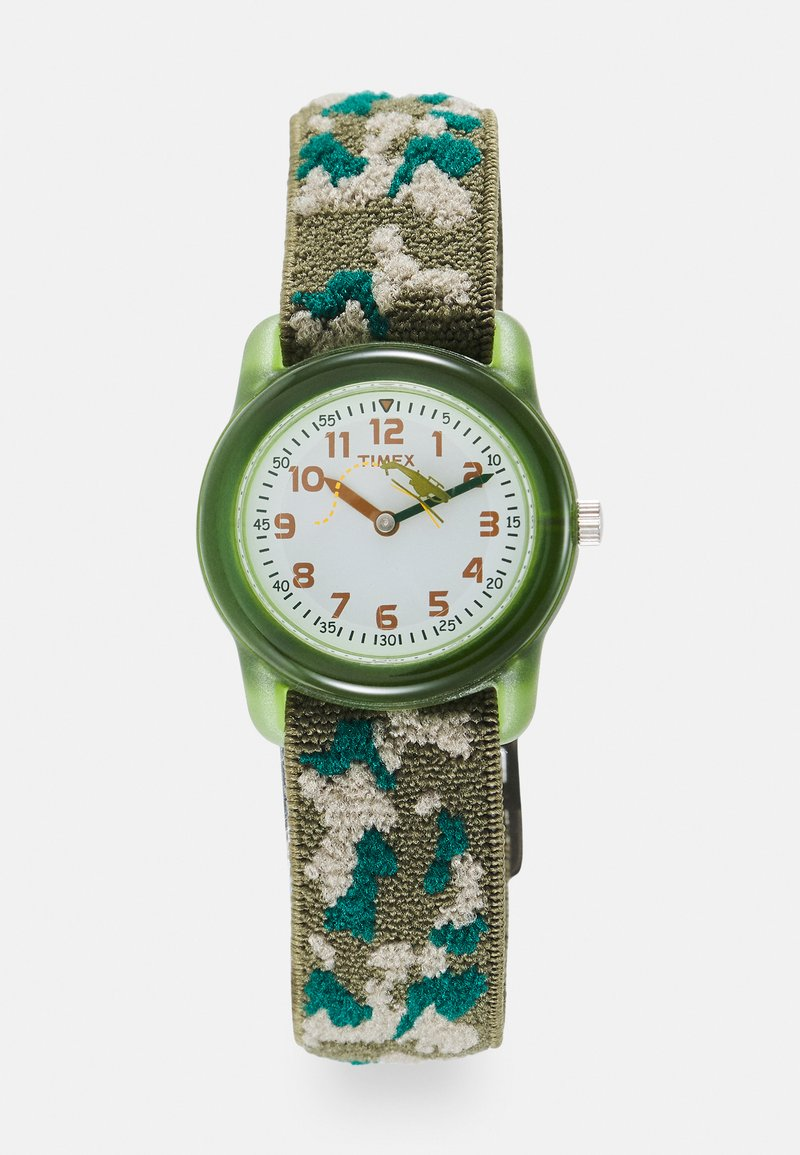 Timex - KIDZ CAMOUFLAGE UNISEX - Hodinky - green