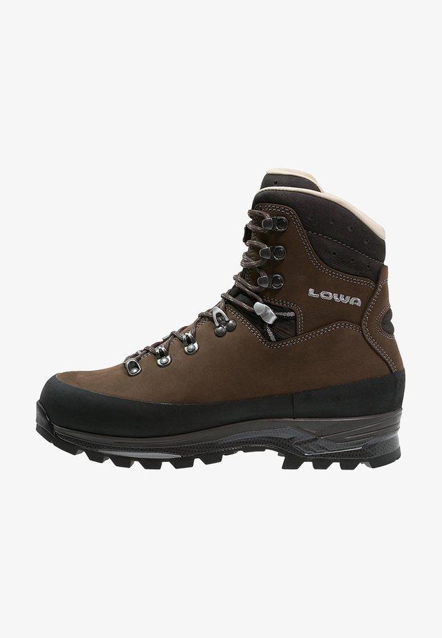 TIBET LL - Mountain shoes - dunkelbraun/schiefer