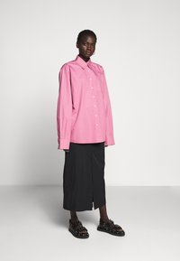 Rika - RAY SKIRT - A-line skirt - black - 1