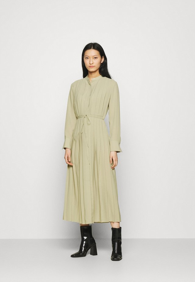 Shirt dress - light khaki