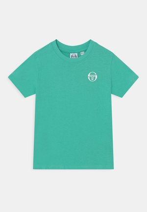 NOLIN UNISEX - T-shirt print - biscay green/anthracite