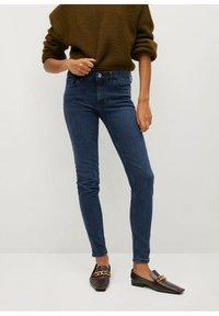 Mango - KIM - Jeans Skinny Fit - diep donkerblauw - 0