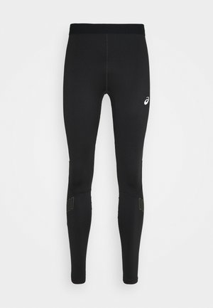 LITE-SHOW WINTER TIGHT - Legginsy - performance black/smog green