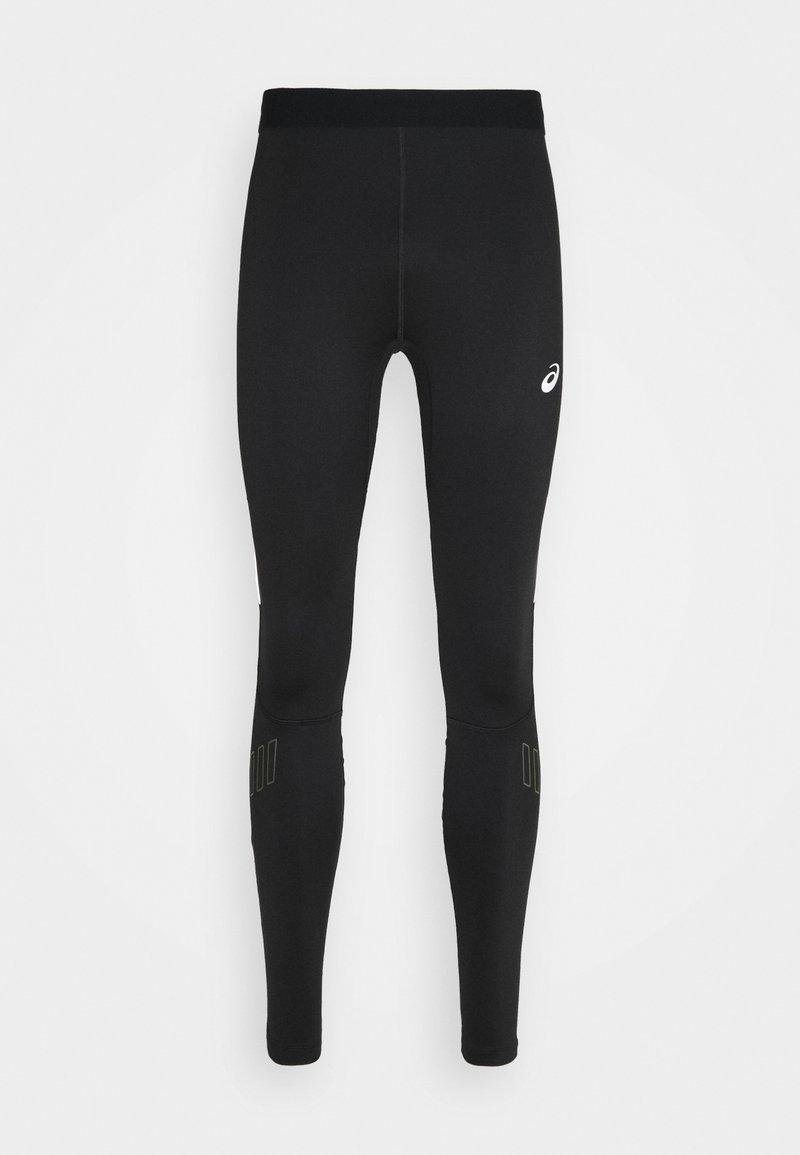 ASICS - LITE-SHOW WINTER TIGHT - Leggings - performance black/smog green
