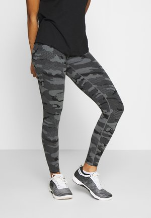 ONJADE LIFE LEGGINGS - Collants - dark grey melange