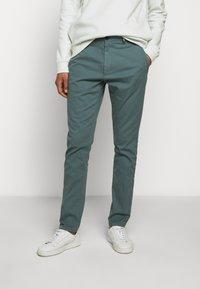 HUGO - GLEN - Chino kalhoty - dark grey - 0