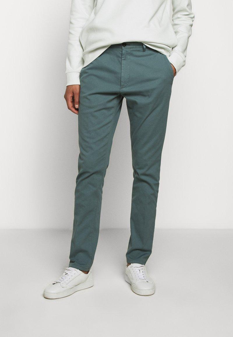 HUGO - GLEN - Chino kalhoty - dark grey