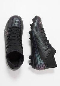 Nike Performance - MERCURIAL 7 CLUB FG/MG - Moulded stud football boots - black - 0