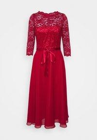 Swing - Cocktail dress / Party dress - burgundy - 4
