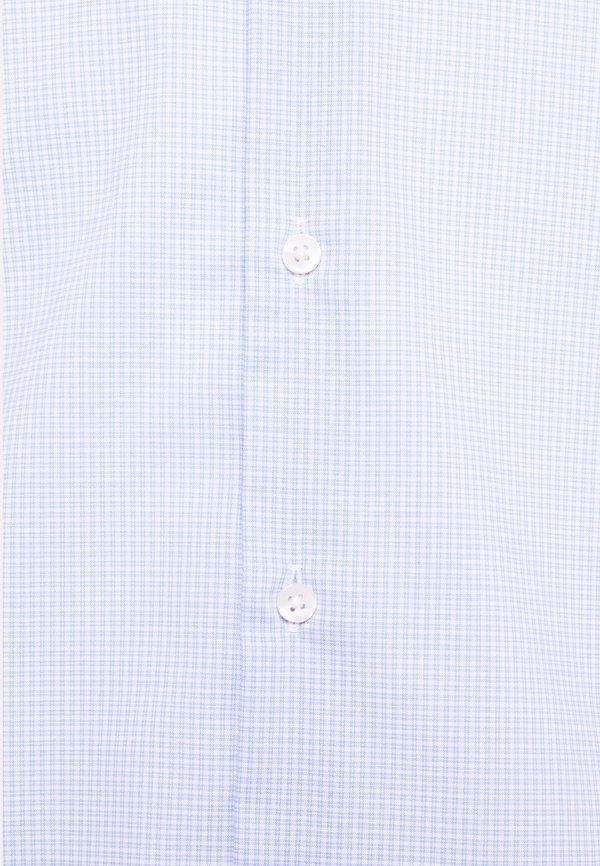 Tommy Hilfiger Tailored MINI CHECK SLIM FIT - Koszula - light blue/white/jasnoniebieski Odzież Męska DWIL