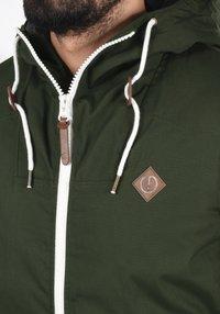 Solid - TILLY - Light jacket - olive - 3