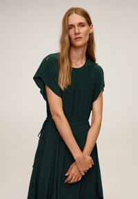 Mango - VERDENA - Day dress - smaragdgrün - 2