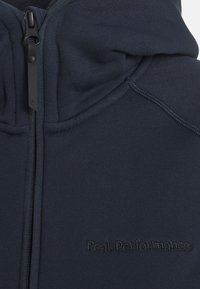 Peak Performance - CHILL ZIP HOOD - Fleece jacket - blue shadow - 2
