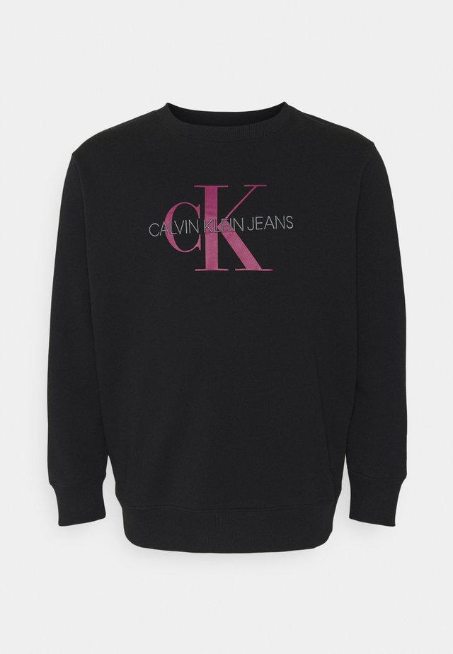 MONOGRAM CREW NECK PLUS - Sweater - black