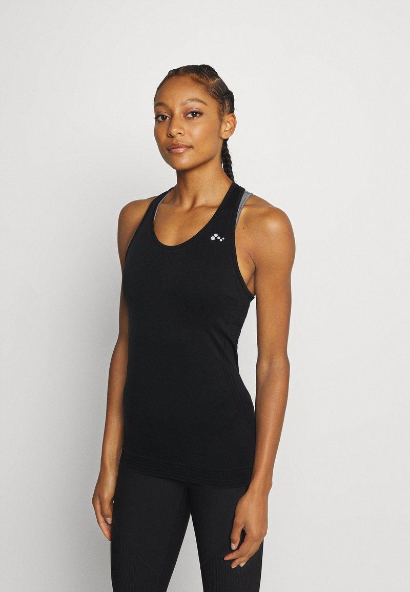 ONLY Play - ONPJASE CIRCULAR - Sportshirt - black