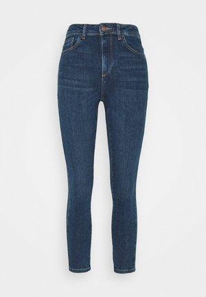 VMSOPHIA - Jeansy Skinny Fit - dark blue denim