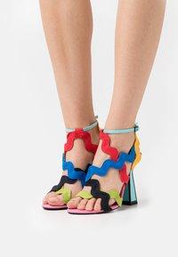 Kat Maconie - JIHAN - Sandals - flamingo/lemonade - 0