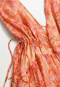 Mango - Maxi dress - orange - 5