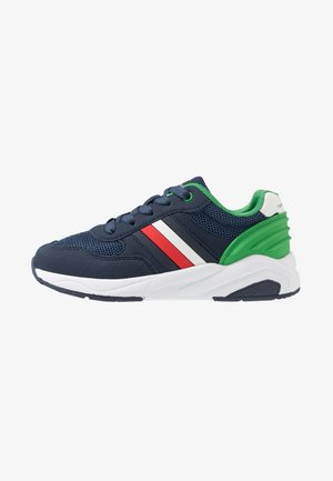 Sneakers laag - blue/green