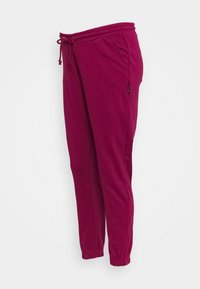 Missguided Maternity - TIE DYE JOGGER - Tracksuit bottoms - raspberry - 0