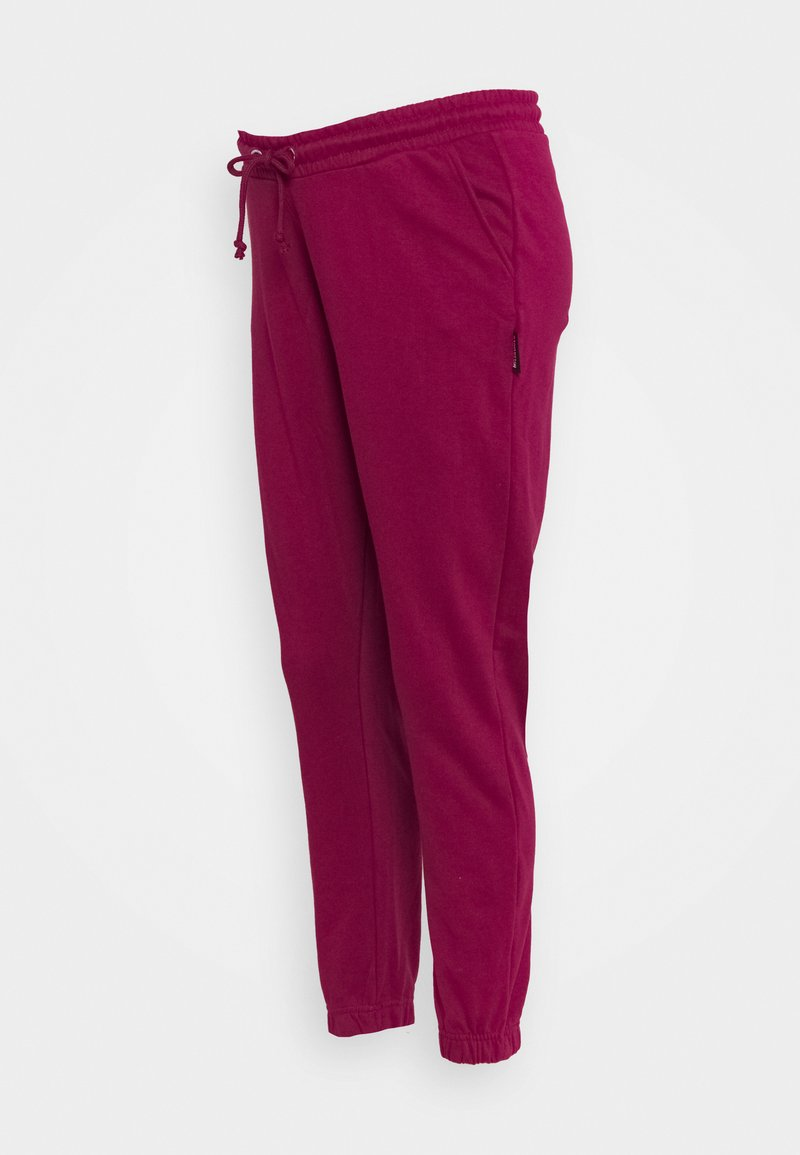 Missguided Maternity - TIE DYE JOGGER - Tracksuit bottoms - raspberry