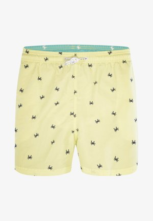 LEWIN - Zwemshorts - citrone sunny lime