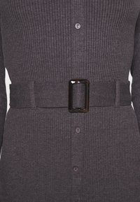 Even&Odd - Jumper dress - mottled dark grey - 5