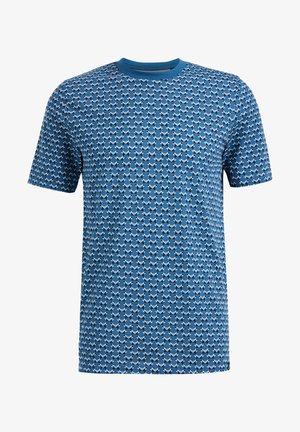 MET GRAFISCH DESSIN - Print T-shirt - dark blue