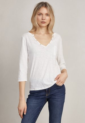 DEBBIE - Long sleeved top - off-white
