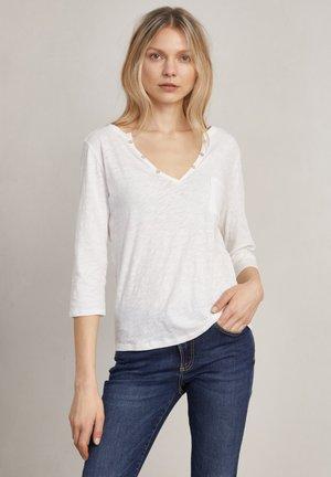 DEBBIE - Long sleeved top - off-white