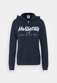 Hollister Co. - TECH CORE  - Sudadera con cremallera - navy - 4
