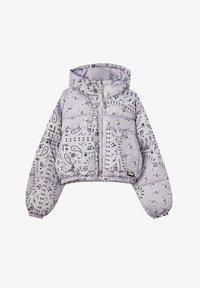 PULL&BEAR - Winter jacket - mauve - 4
