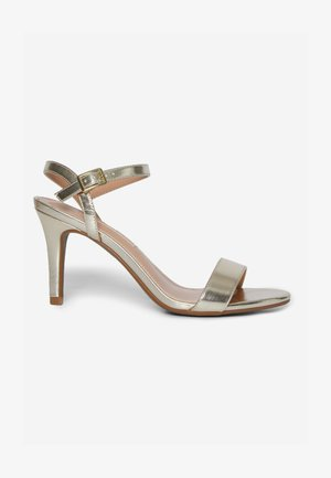 SIZZLE TWO PART - High heeled sandals - gold