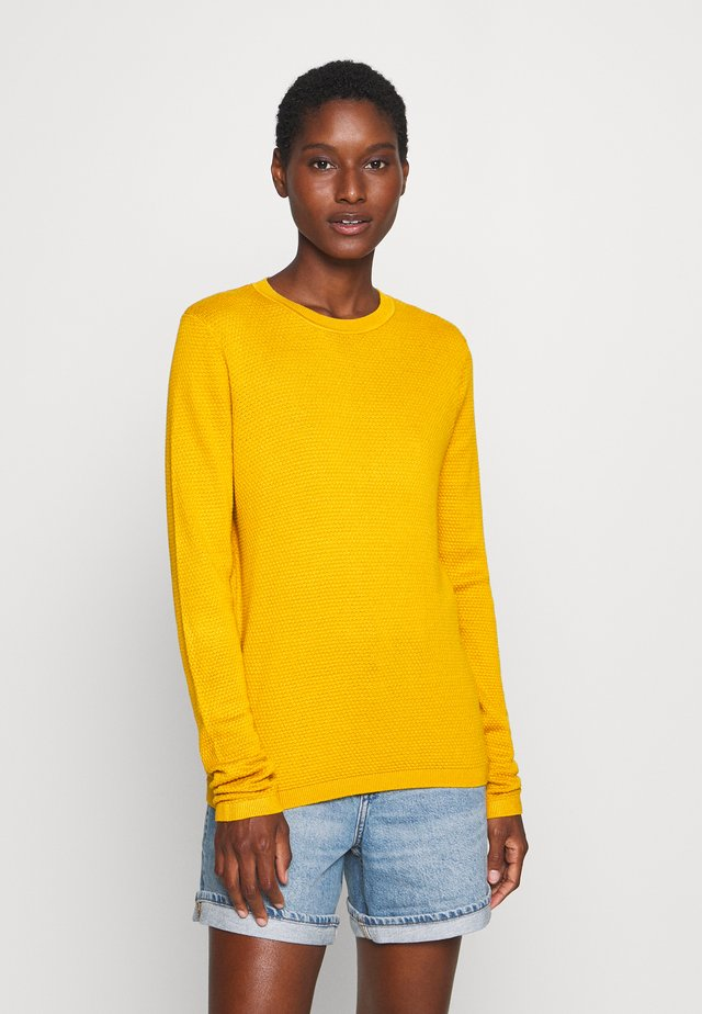 Jumper - golden yellow