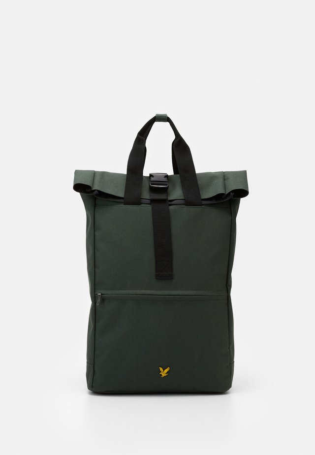 ROLL TOP BACKPACK - Rucksack - jade green